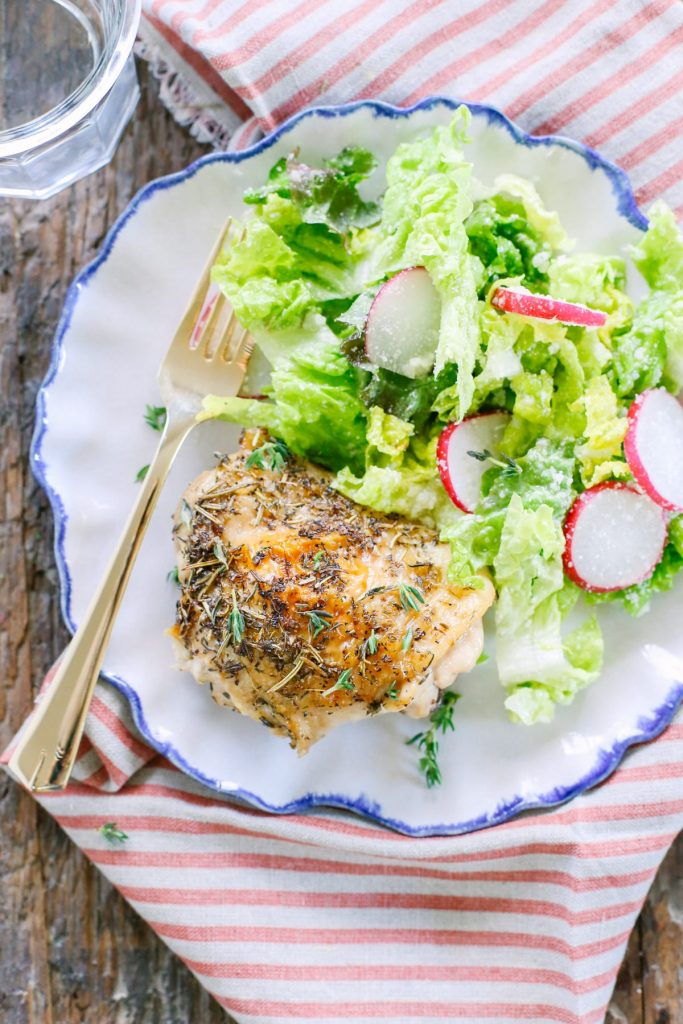 Crispy Herb Baked Chicken Recipes — Dishmaps