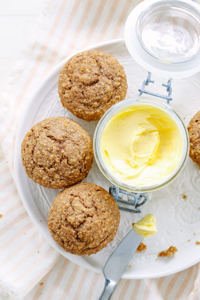 My family loves these muffins. They are so easy to make, plus the recipe provides a make-ahead option (actually two). No processed ingredients, just 100% budget-friendly real food.