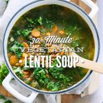 30-Minute Vegetarian Lentil Soup