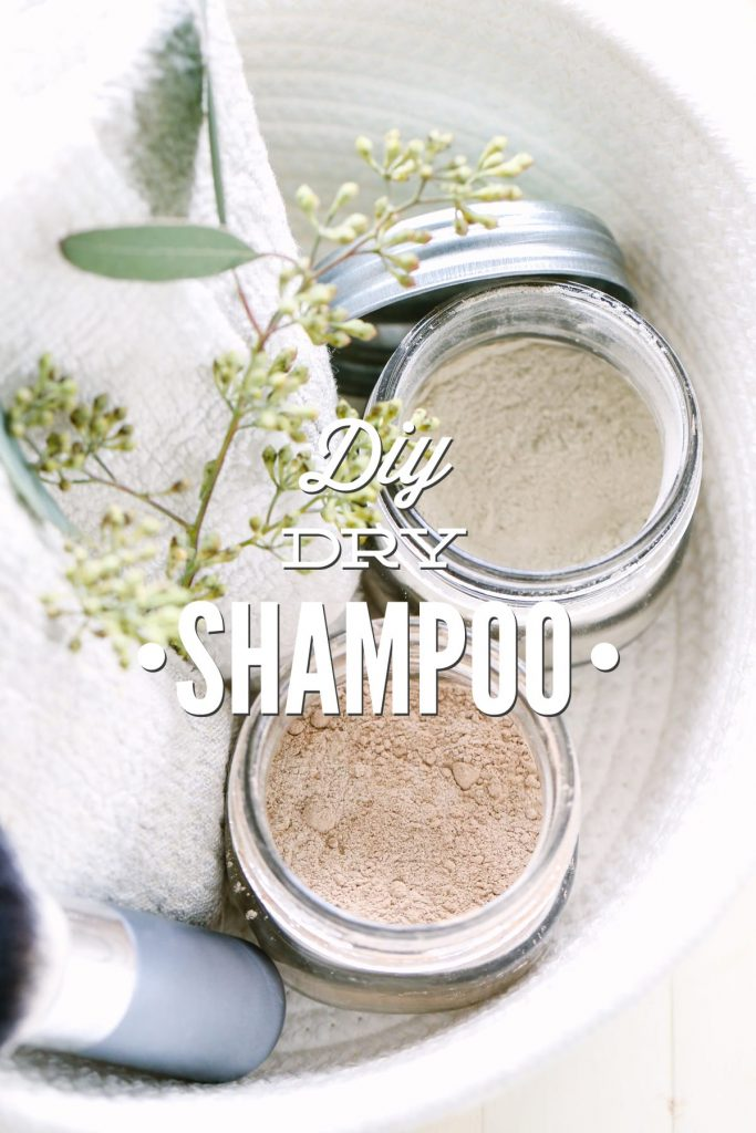 This stuff is so easy to make, and saves me so much time in the morning. Just sprinkle this dry shampoo in your hair, massage, brush, and voila...you're ready to face the day. The darker powder works best for my hair, but there are two color options in the recipe.