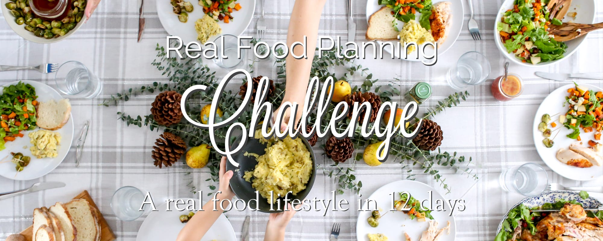 Real Food Panning Challenge