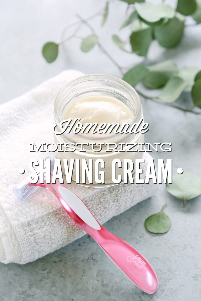 Homemade Moisturizing Shave Cream. I've tested so many different varieties so you don't have to. This one was the winner!