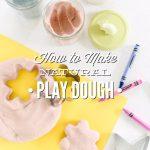 How to Make Play Dough