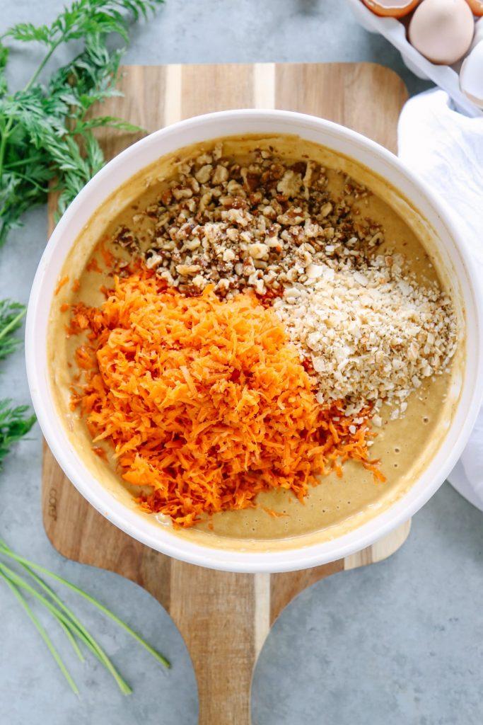 Healthy Applesauce Carrot Cake Recipe