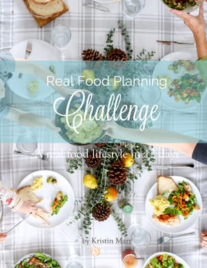Real Food Planning Challenge