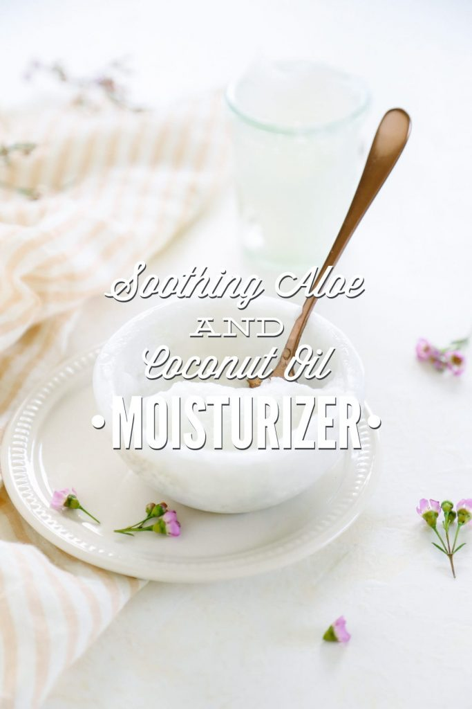 Soothing aloe and coconut oil moisturizer multi purpose live simply trust me you need to make this soothing aloe and coconut oil moisturizer and use solutioingenieria Gallery