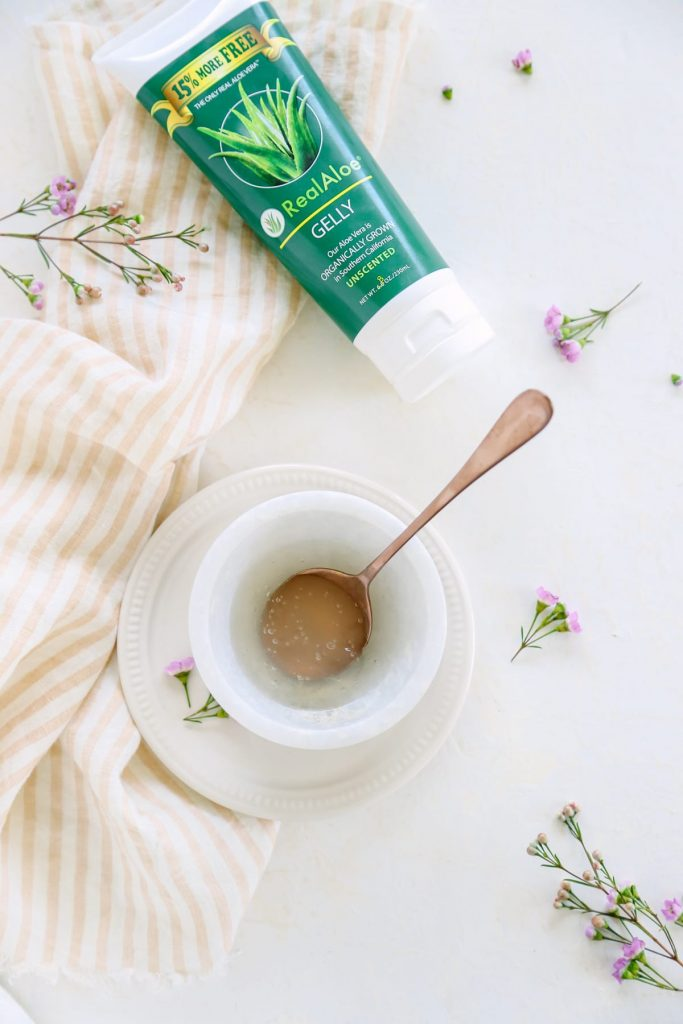Trust me, you need to make this Soothing Aloe and Coconut Oil Moisturizer and use it after shaving or enjoying time in the sun.