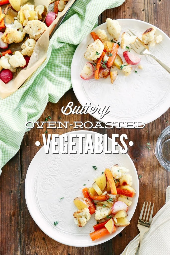 There's nothing more delicious than Buttery Oven-Roasted Vegetables. Using my tried and true veggie roasting tips, you'll always have a perfect and easy side dish for any meal.
