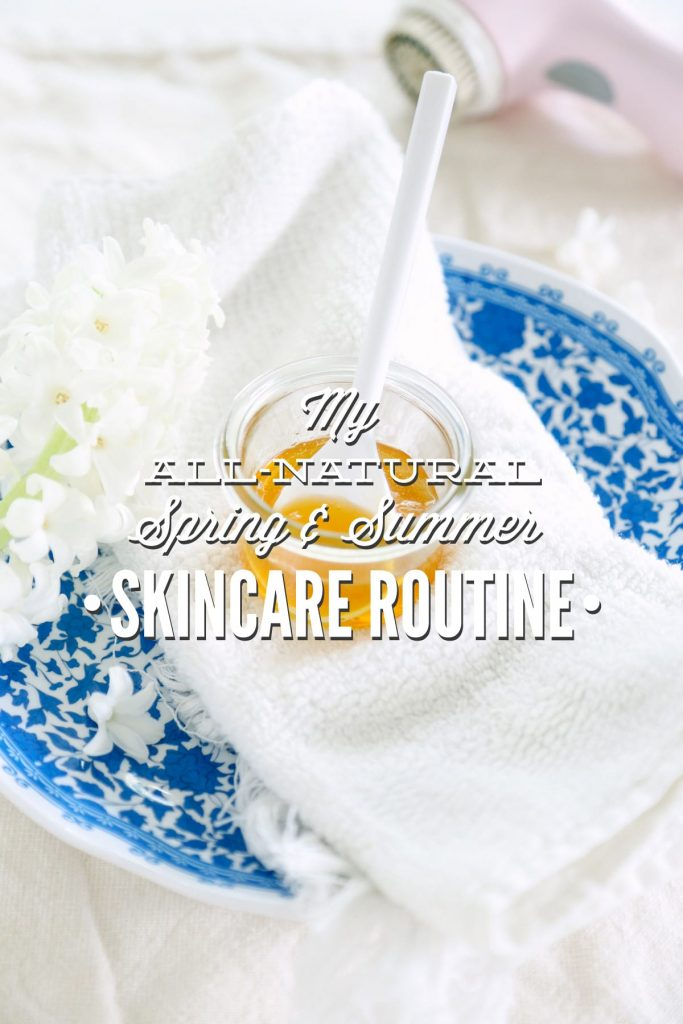 My spring and summer skincare routine isn't too different than my fall routine. Find out what I use and if it would work for you.
