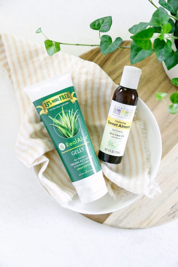 Don't fall for the marketing schemes of the fancy moisturizers! This 2-ingredient aloe facial moisturizer is easy to mix up and simple to use!