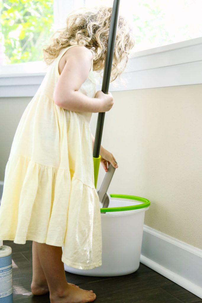 Homemade Multi-Surface Floor Cleaner (No Vinegar) - Live Simply