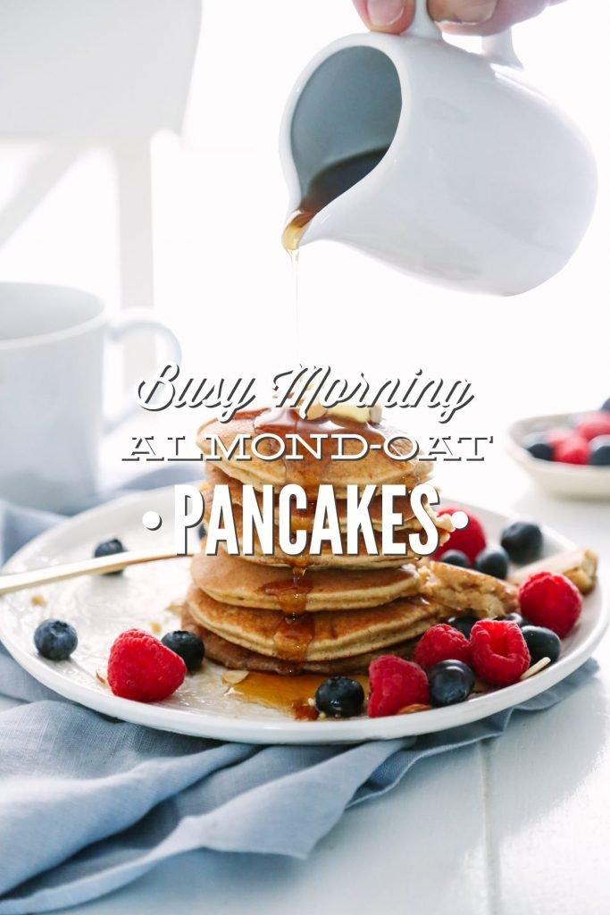 These are so easy (10-15 minutes from start to finish), and they freeze very well. I make a large batch of these pancakes, place them in the freezer, and then reheat them on busy mornings. Packed full of healthy ingredients, and my family loves them! Big win in our house.