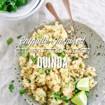 Chipotle-Inspired Cilantro Lime Quinoa