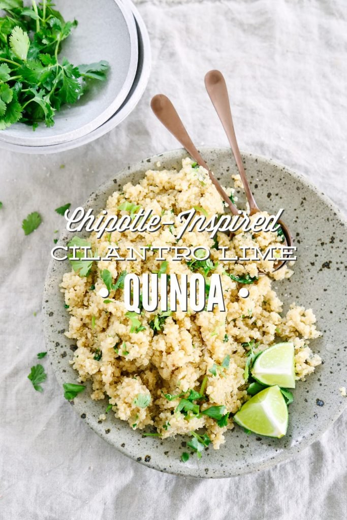 I didn't like quinoa until I tried this recipe. Soooo good, and soooo easy! Such simple ingredients come together to make such a fresh and versatile dish.