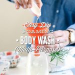 Easy DIY Foaming Body Wash