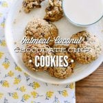 Oatmeal-Coconut Chocolate Chip Cookies