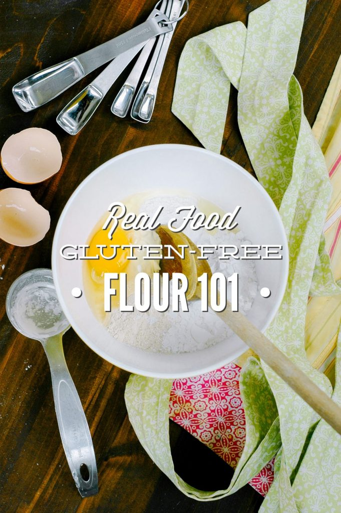 Some gluten free flours can be tricky to work with at first. This gluten-free flour 101 post is a great help in figuring out which flours are right for your family!