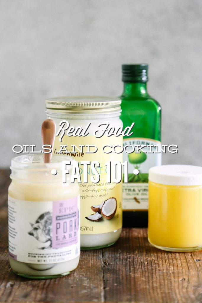 Healthy fats are vitally important in a real food diet! Read up here about real food oils and cooking fats.