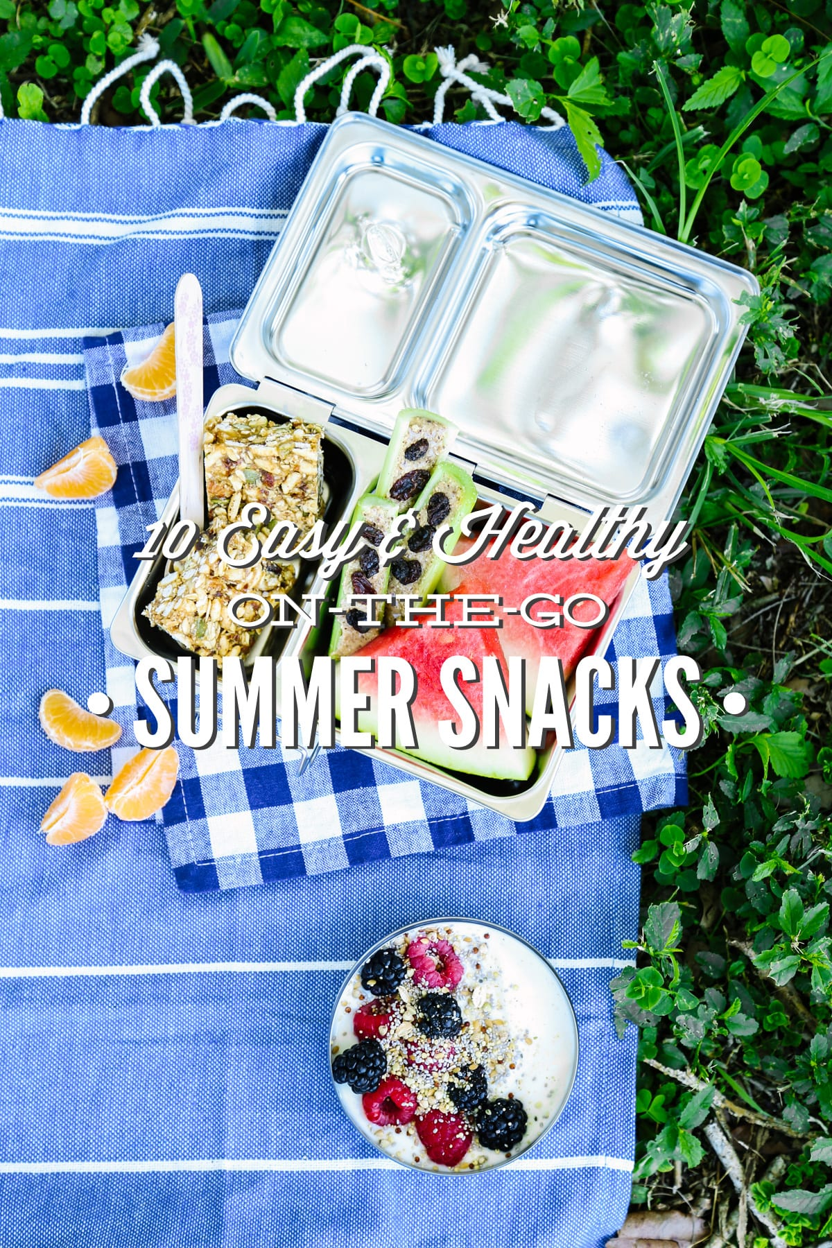 10 Easy and Healthy On-the-Go Summer Snacks