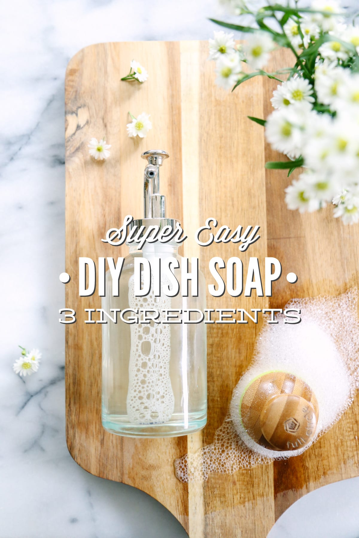 3 Easy Diy Storage Ideas For Small Kitchen: Super Easy DIY Dish Soap: 3 Ingredients