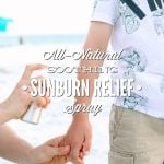 All-Natural Soothing Sunburn Relief Spray