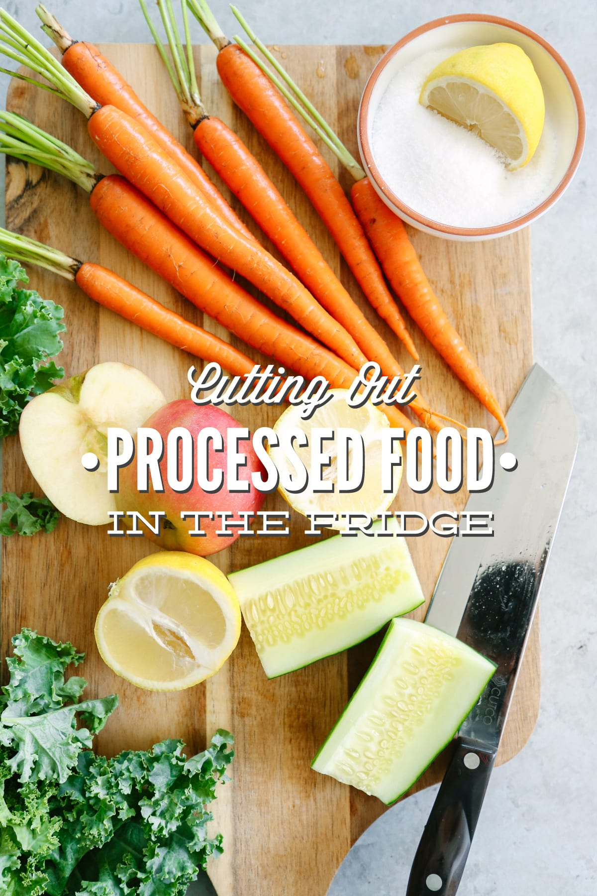 How To Cut Out Processed Food In The Fridge Live Simply