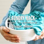 Laundry Hack How to Remove Grease Stains