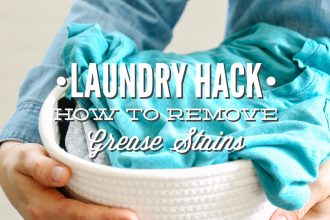 Laundry Hack: How to Remove Grease Stains