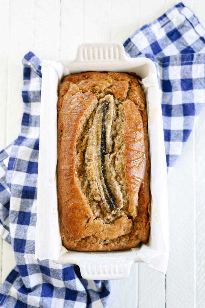 Naturally-Sweetened Multi-Grain Banana Bread