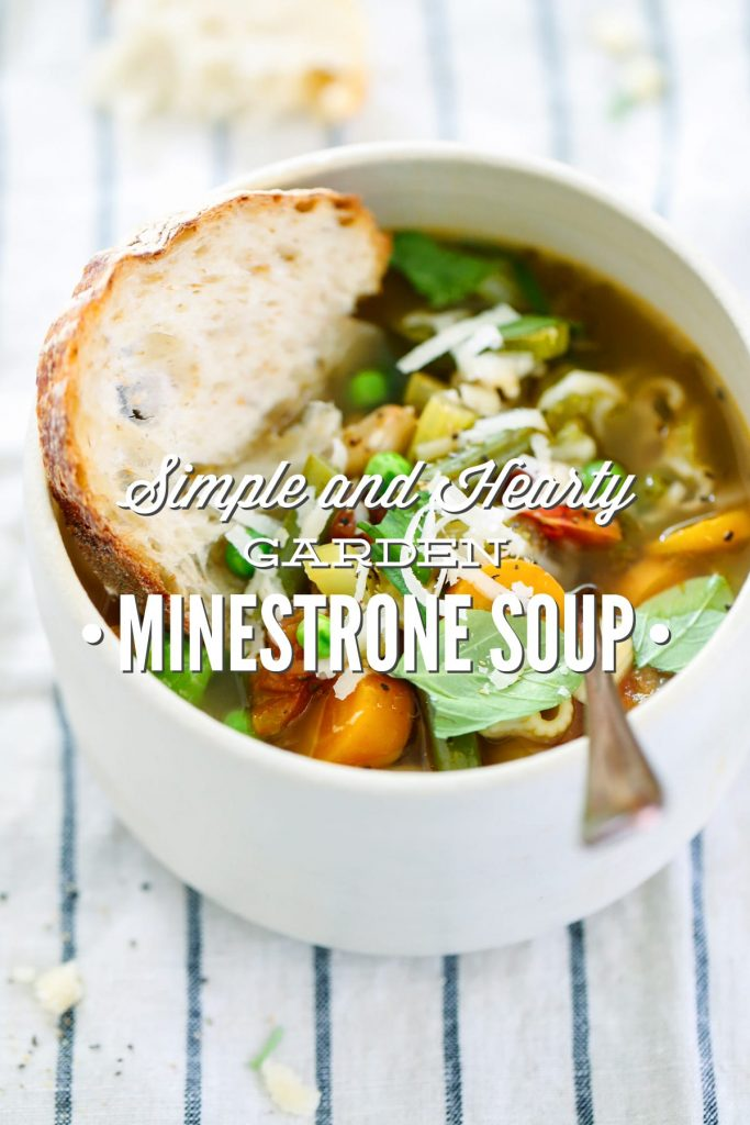 Olive Garden Minestrone Soup Recipe Crock Pot Simple and hearty garden minestrone soup live simply love this healthy garden inspired soup makes enough for dinner and workwithnaturefo