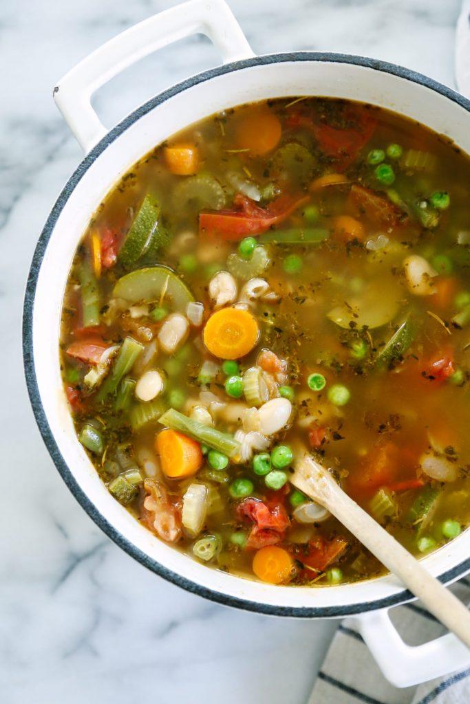 recipe: simple minestrone soup [9]