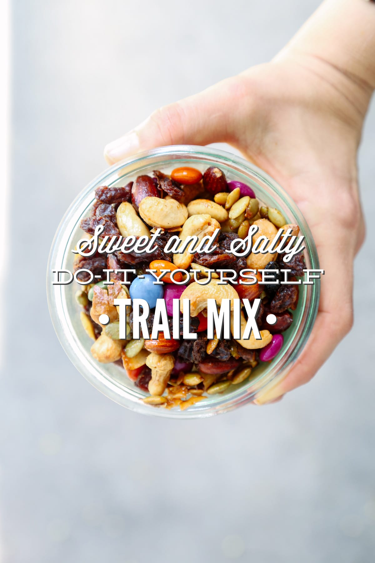 Sweet and Salty Do-It-Yourself Trail Mix