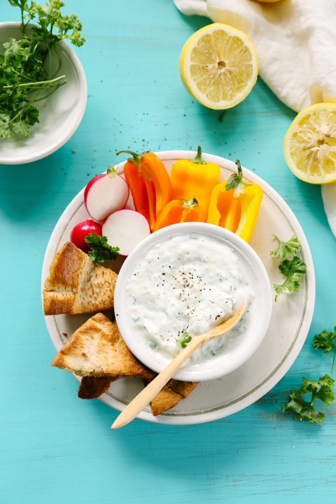 how to make tzatziki sauce video