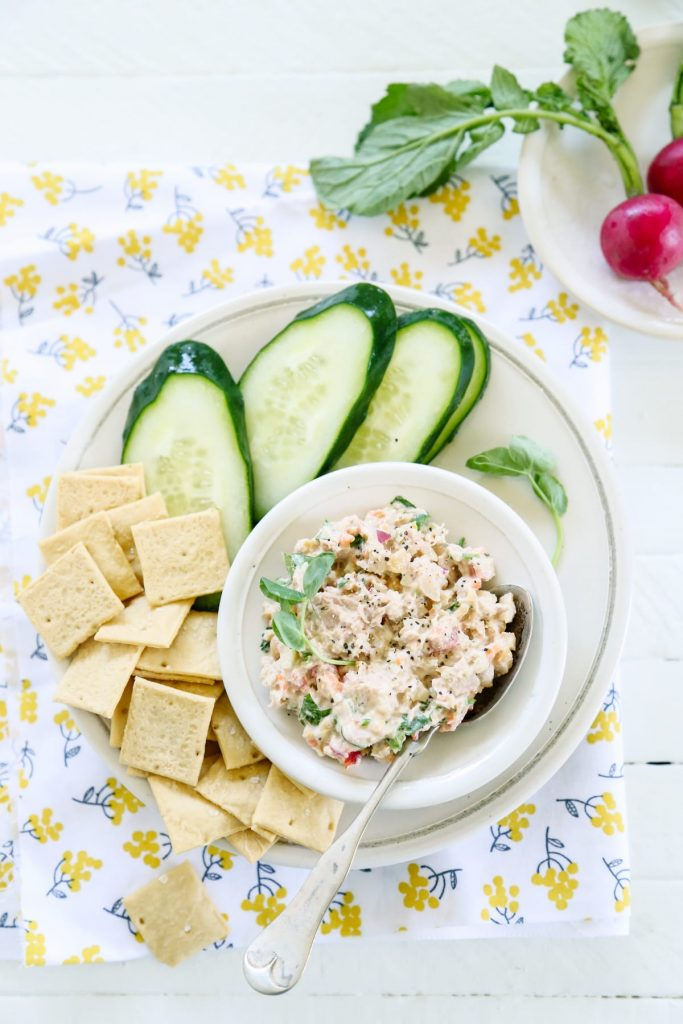 A veggie-packed tuna you can make in advance for a quick and healthy lunch.