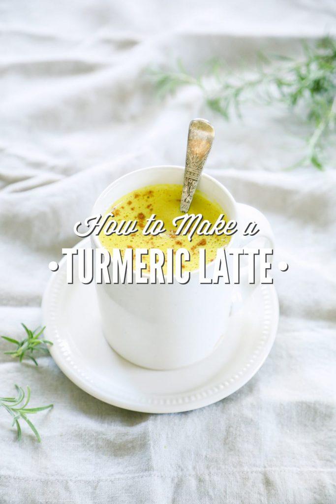 How to Make a Turmeric Latte