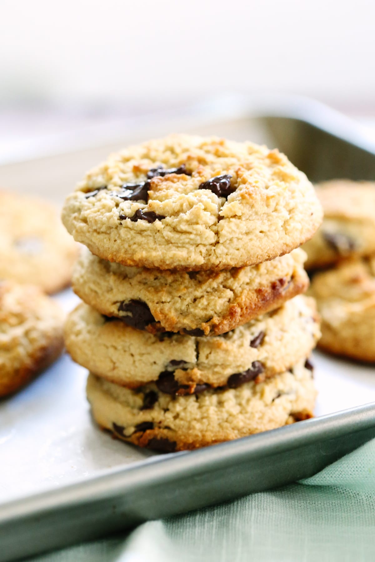Miracle Almond Flour Chocolate Chip Cookies - Live Simply