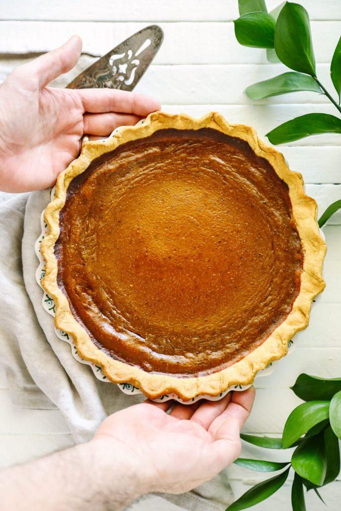 recipe: pumpkin pie with condensed milk vs evaporated milk [26]