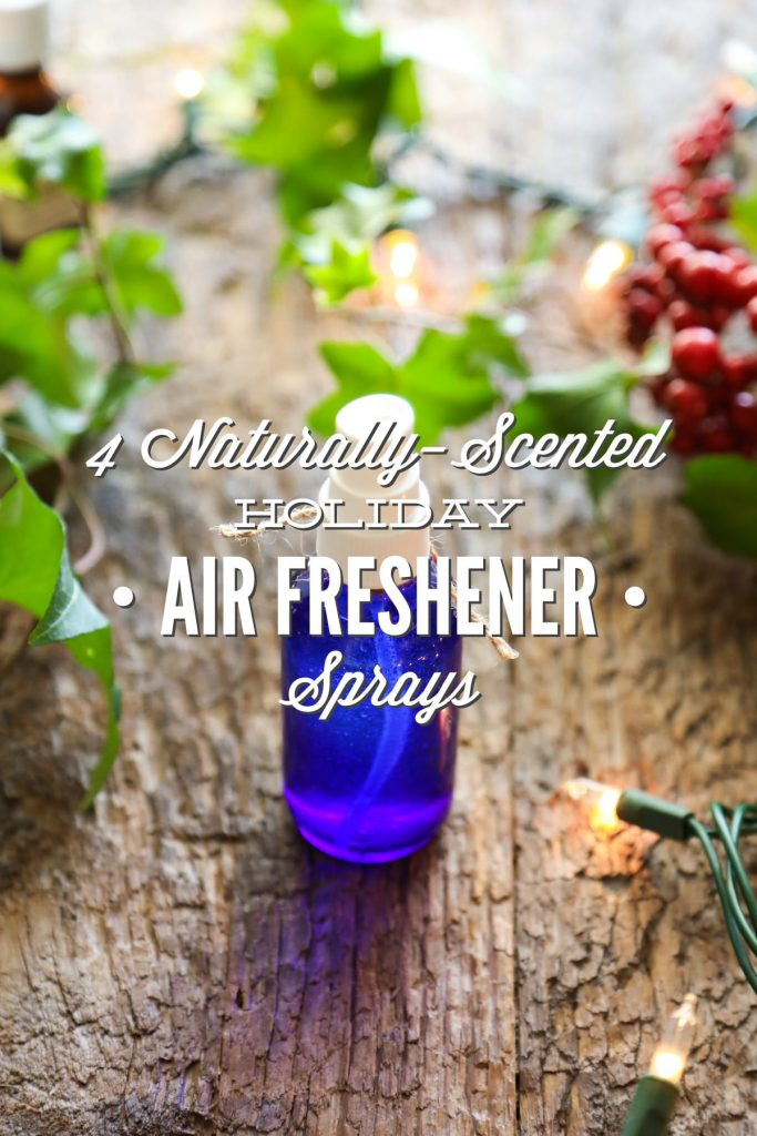 Love these naturally-scented air/linen/room freshener sprays. Simple ingredients, easy to make. Also great for the diffuser.