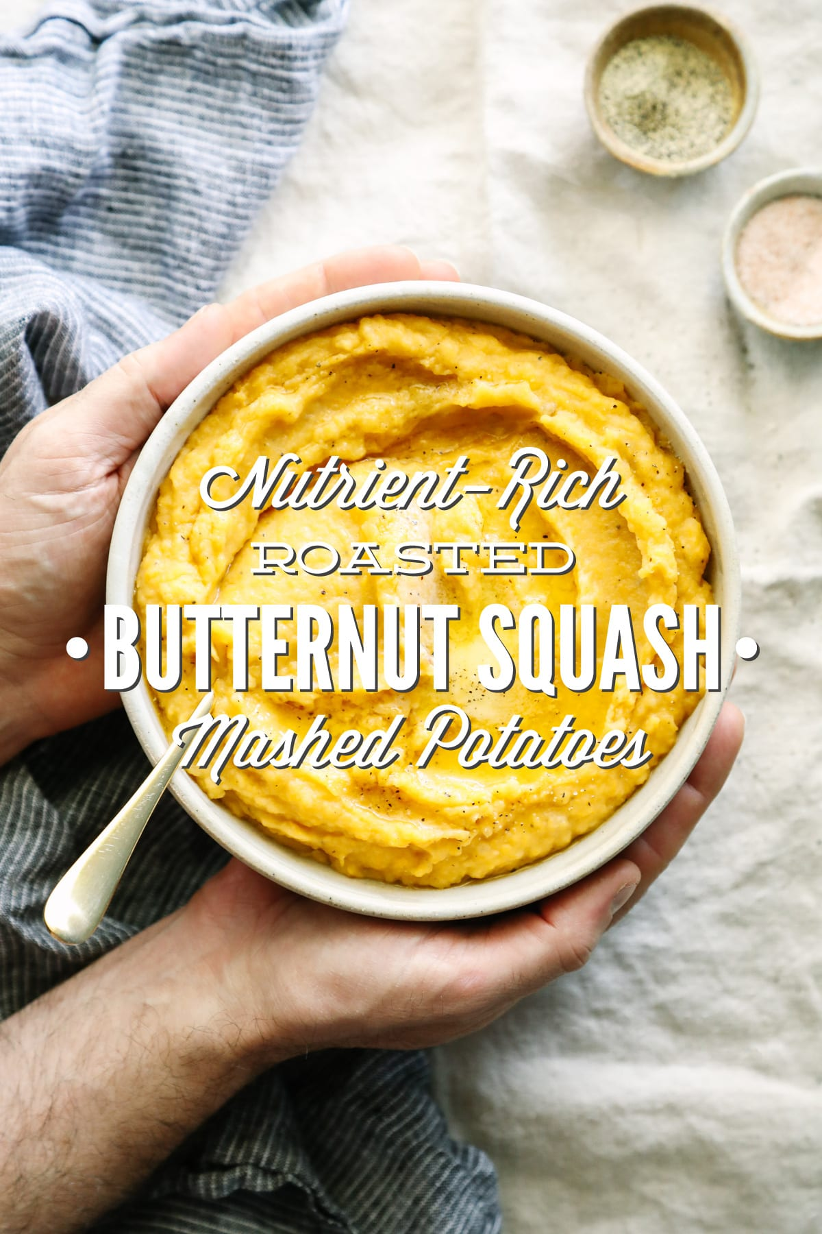 Nutrient-Rich Roasted Butternut Squash Mashed Potatoes
