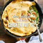 One-Skillet Classic Chicken Pot Pie