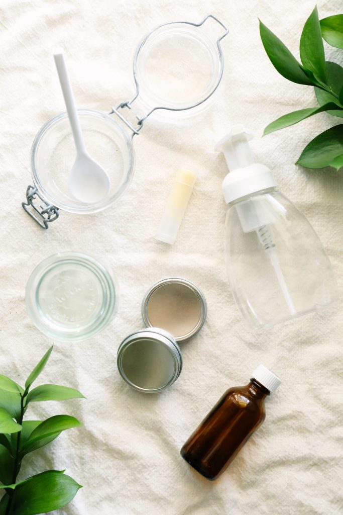Everything you need to make and use natural body-care products. These simple ingredients come together to nourish the skin and body.