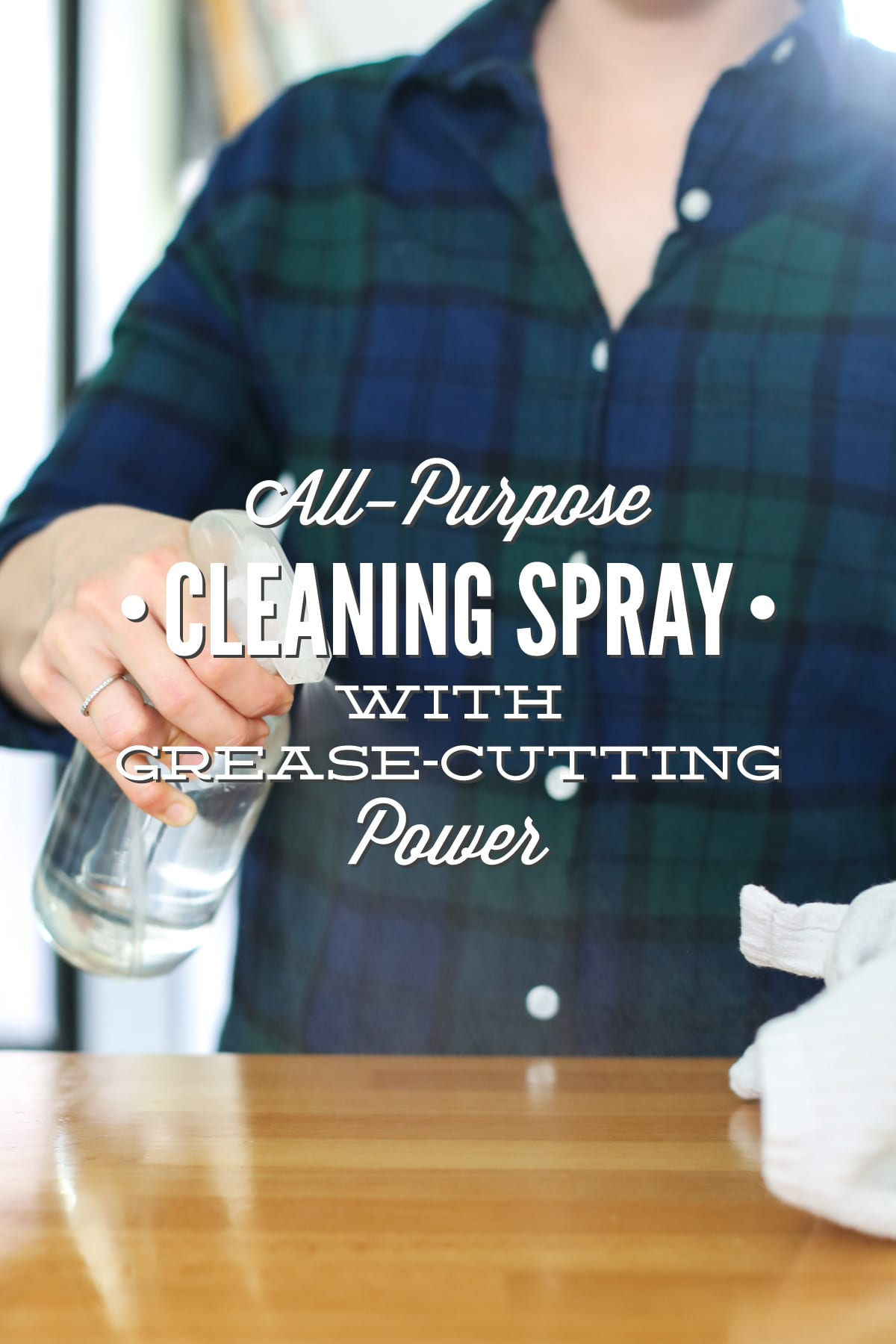All-Purpose Cleaner Spray (with Grease-Cutting Power)