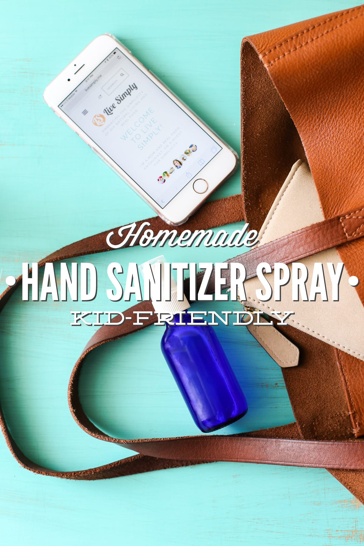 Homemade Hand Sanitizer Spray Kid-Friendly