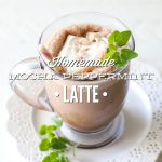 Homemade Mocha Peppermint Latte