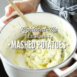 Lightened-Up Herbed Mashed Potatoes
