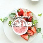 Strawberry and Yogurt Brightening DIY Facial Mask