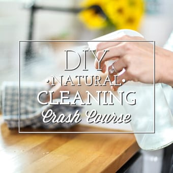 Free DIY Natural Cleaning Crash Course