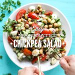 Easy Marinated Chickpea Salad