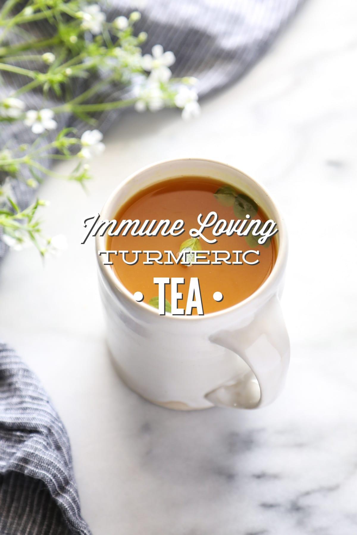 Turmeric, Lemon, and Honey Tea