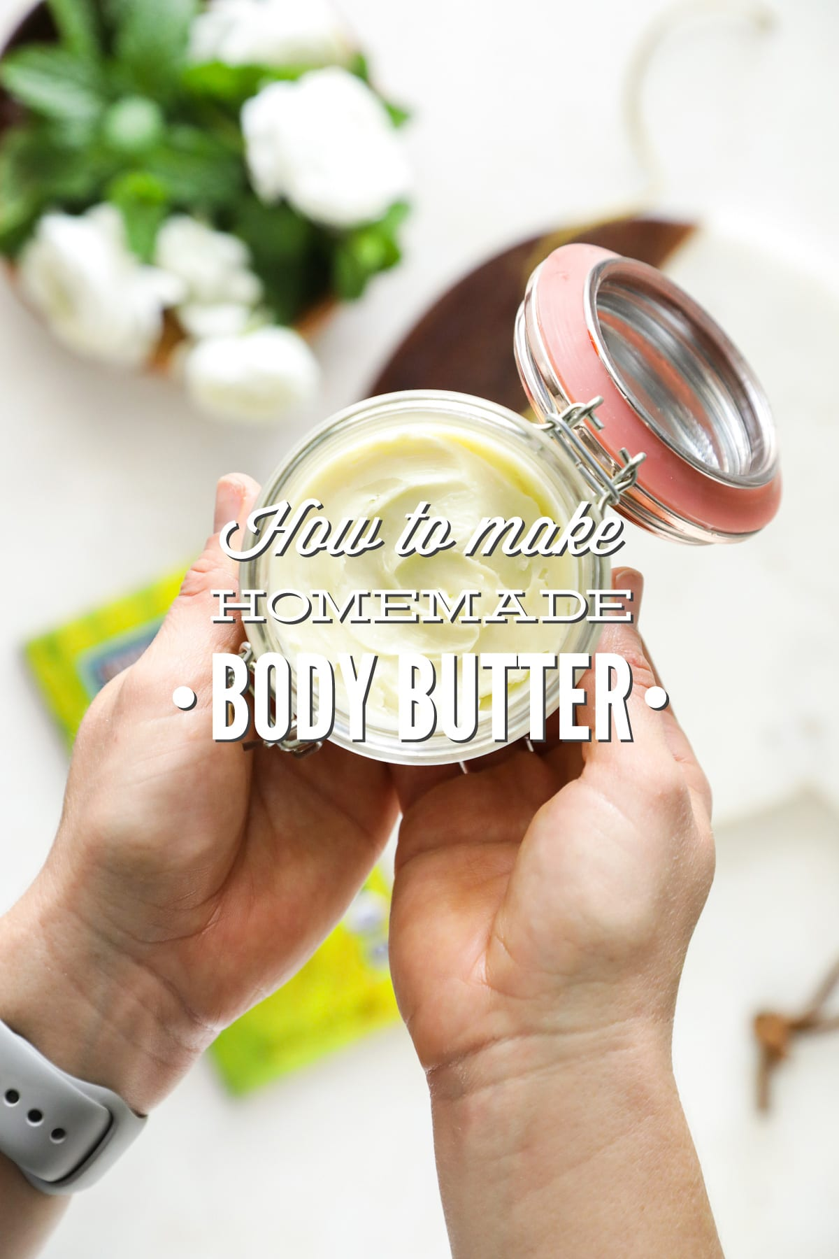 How to Make Homemade Body Butter